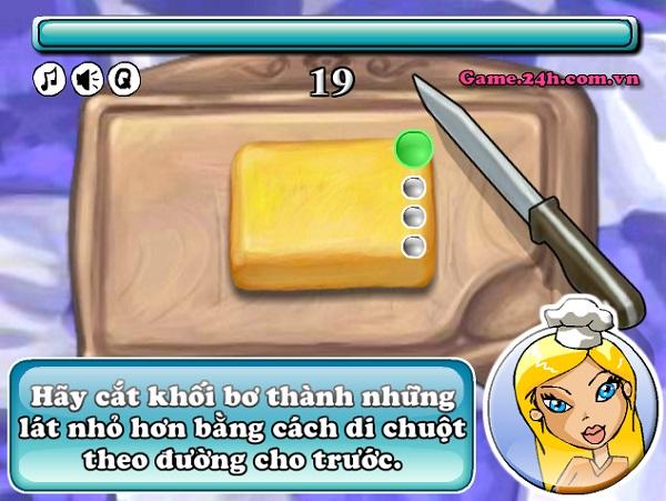 game Banh kem nhan dau phong hinh anh 1