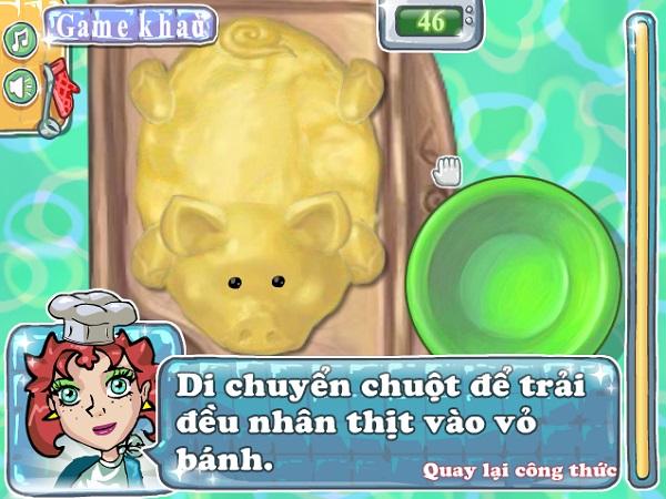game Banh nuong heo con quay