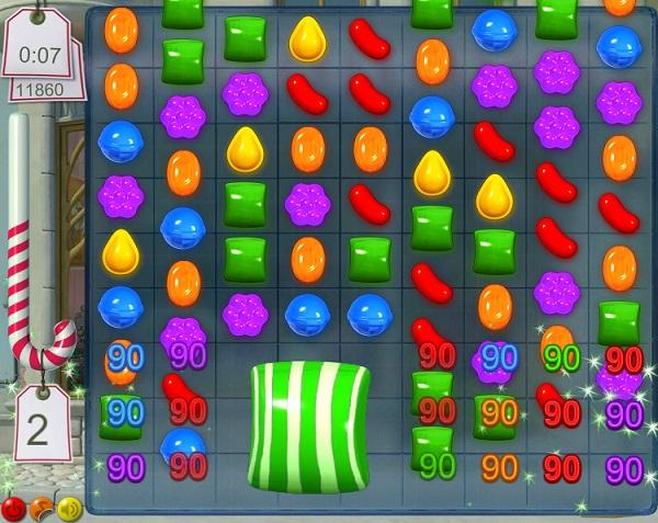 game Candy crush hinh 2