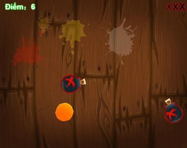 game Chem hoa qua fruit ninja hd cho pc
