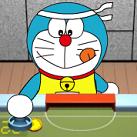 Doremon chơi khúc côn cầu