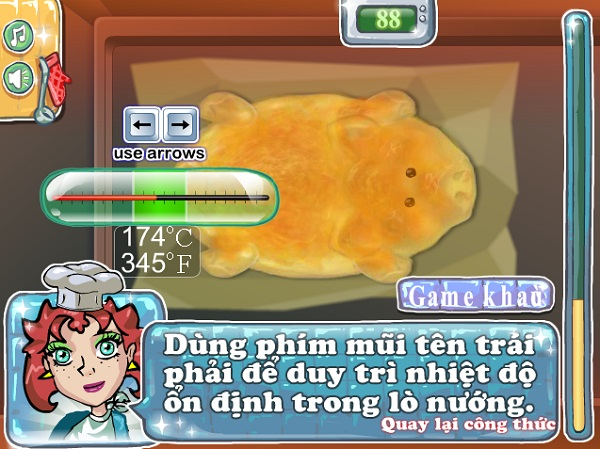 game Lam Banh nuong heo quay