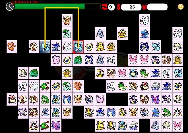 Game Pikachu co dien online