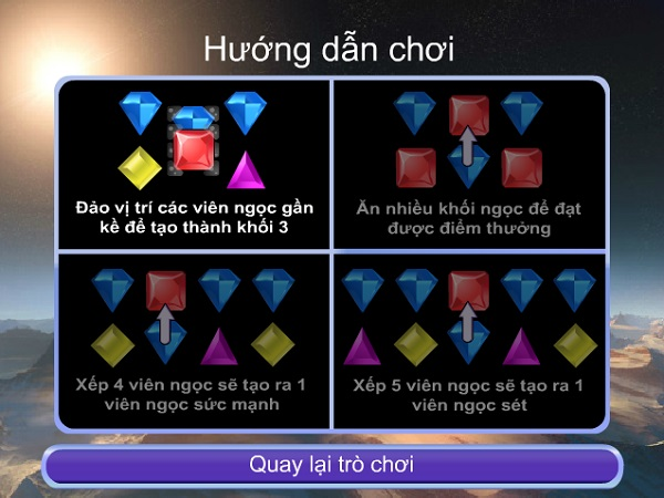 game Xep kim cuong Bejeweled hinh anh 2