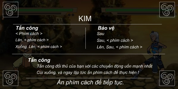 game Avatar aang danh nhau