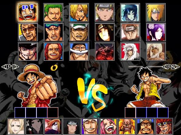game One Piece vs Naruto 3.0 4399