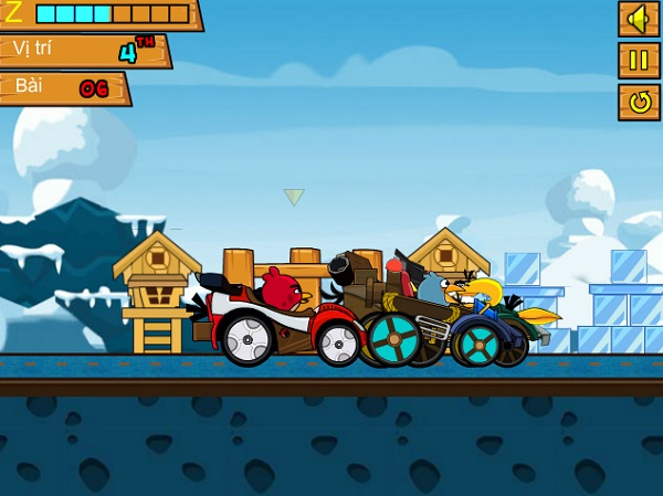 game Angry Birds Go online