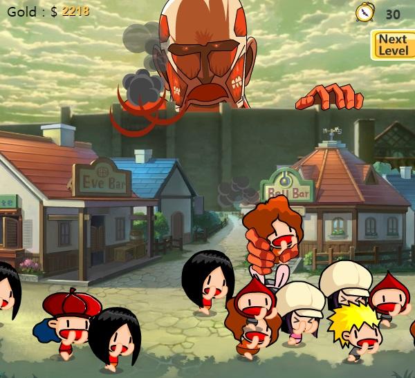 Game Attack on titan offline