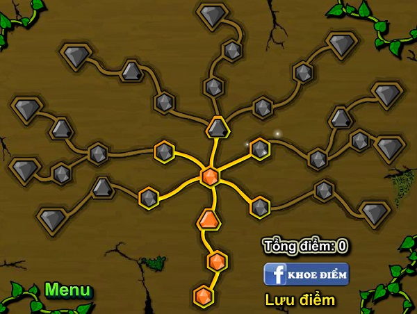 Game Lua va nuoc trong den tho rung