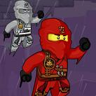 Ninjago leo tường