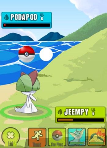 Game Pokemon go 2 game vui