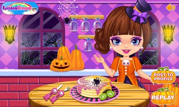 game Banh halloween ma quai hinh anh