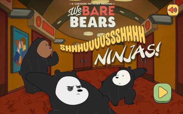 Game Chung toi don gian la gau ninja hinh anh