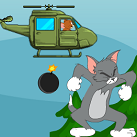 Jerry thả bom