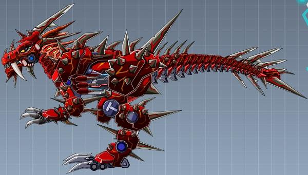 Game Lap rap robot t-rex hung bao hinh anh