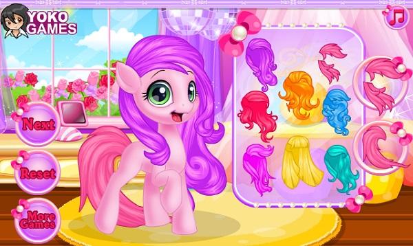 game Pony trang diem hinh anh