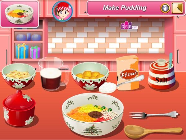 game Banh pudding giang sinh hinh anh