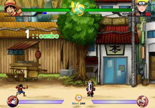 game One Piece vs Naruto 3.0 hinh anh