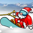 Ông già Noel trượt tuyết