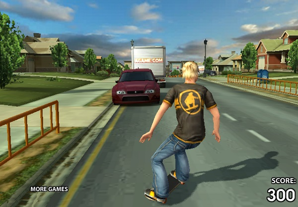 game Truot van duong pho 3D hinh anh