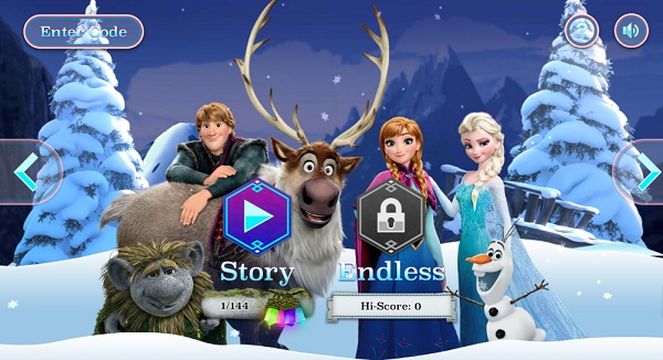 game Frozen Rush hinh anh 1