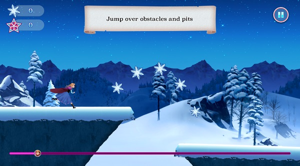 game Frozen Rush hinh anh 2