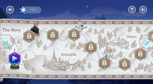 game Frozen Rush hinh anh 3