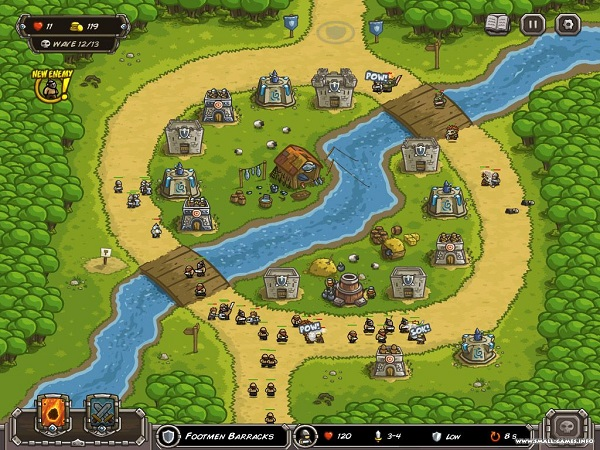 game Kingdom Rush 3 hinh anh 4
