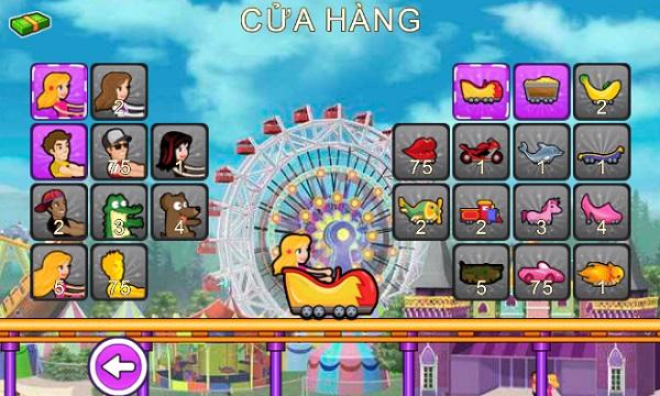 game Tau luon cong chua hinh anh 3