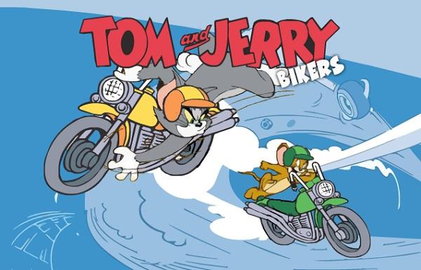 game Tom va Jerry dua xe may hinh anh 1