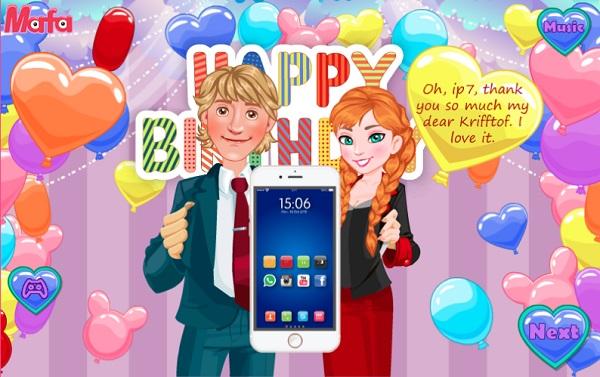 game Trang tri dien thoai iphone 7