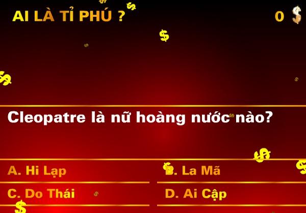 game Ai la ty phu mien phi