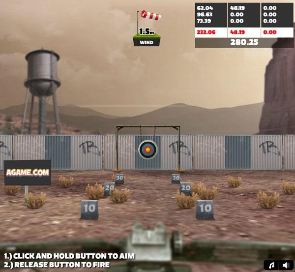 game Ban cung 3D hay