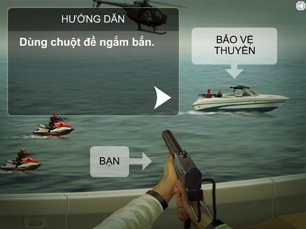 game Ban nhau tren bien hinh anh