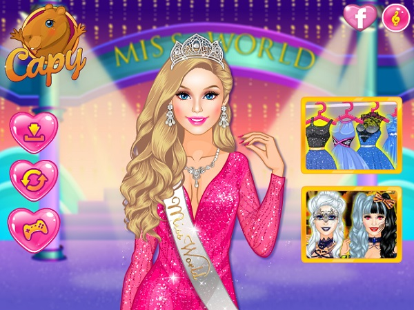 game Barbie miss world