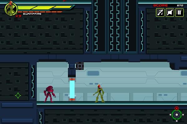 game Ben 10 Ultimate Alien rescue 2