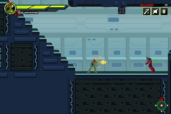 game Ben 10 Ultimate Alien rescue