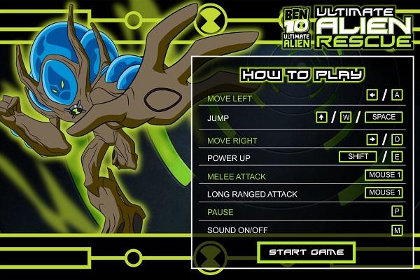 game Ben 10 Ultimate Alien
