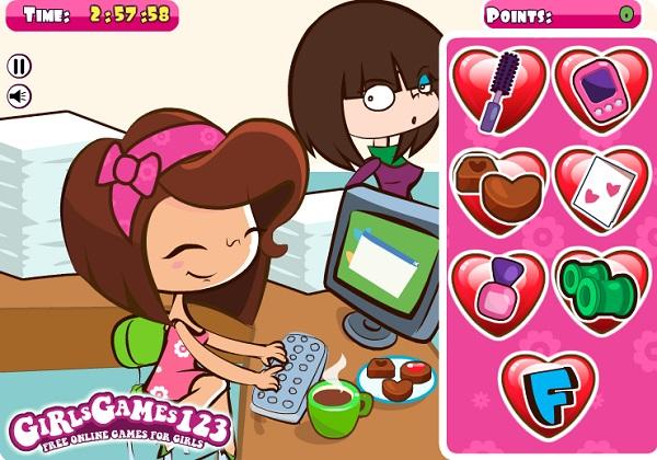 game Giet thoi gian Valentine