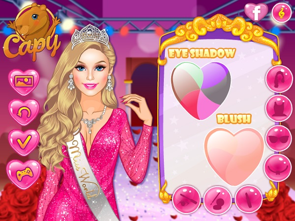 game Hoa hau bup be barbie