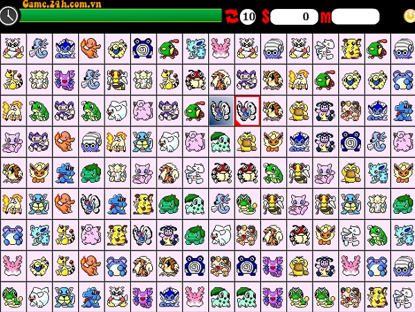 game Pikachu phien ban cu 2003