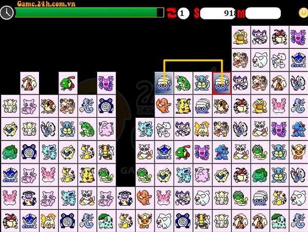 game Pikachu phien ban cu co dien