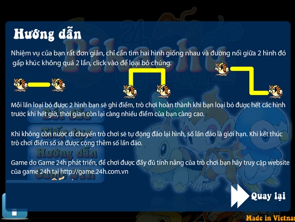 game Pikachu phien ban cu