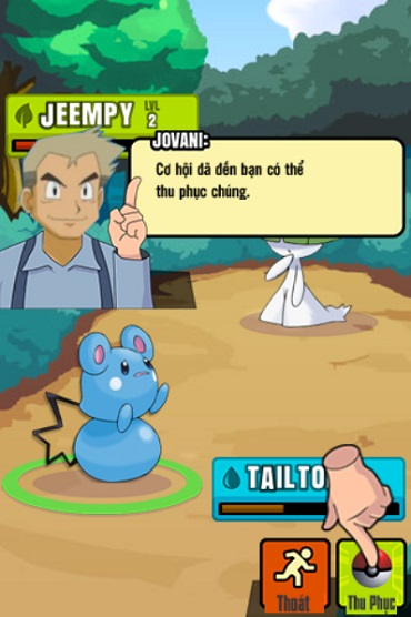 game Pokemon dai chien 2 moi