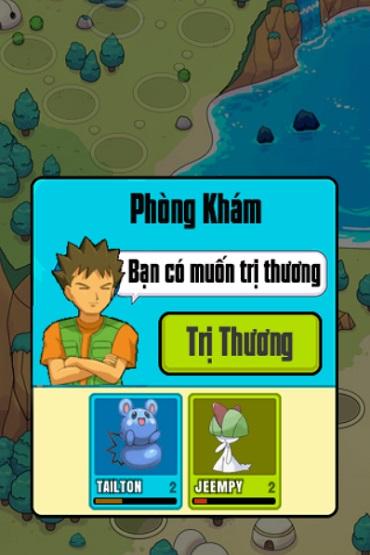 game Pokemon dai chien 2 online