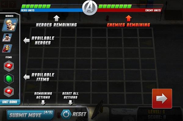game Biet doi sieu anh hung Marvel vui game