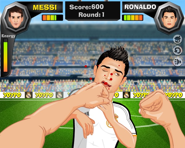 Game Cristiano ronaldo vs lionel messi