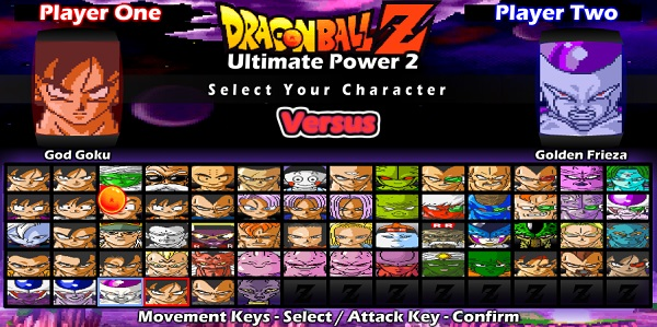 game DBZ Ultimate Power 2 online