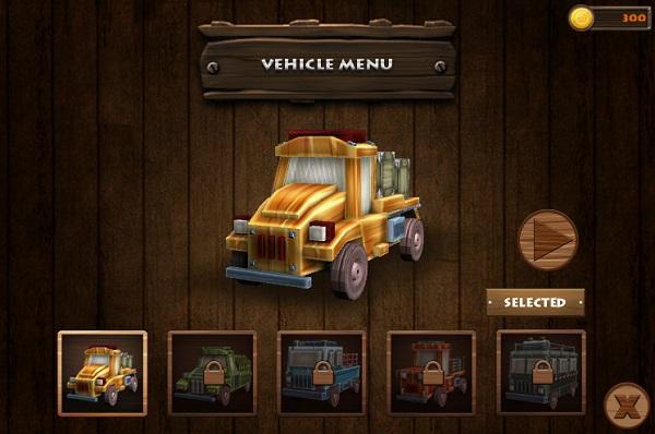 game Do xe cong vien khung long 3d