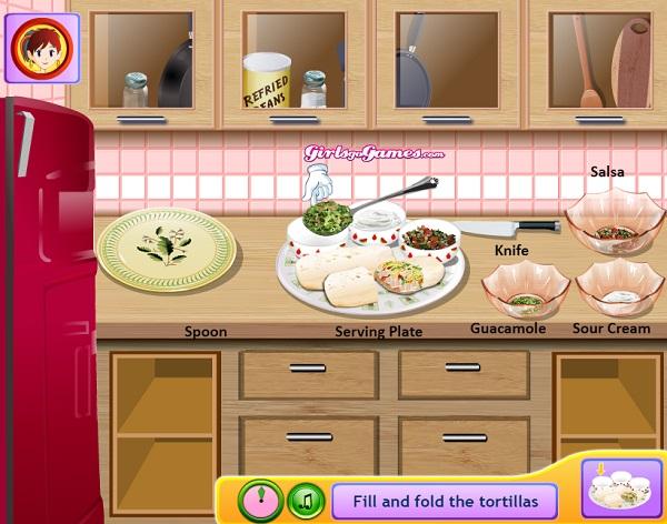 game Lam banh Burrito hinh anh 2